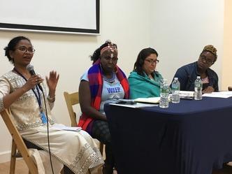 Promoviendo los derechos de la mujer rural en la CSW62